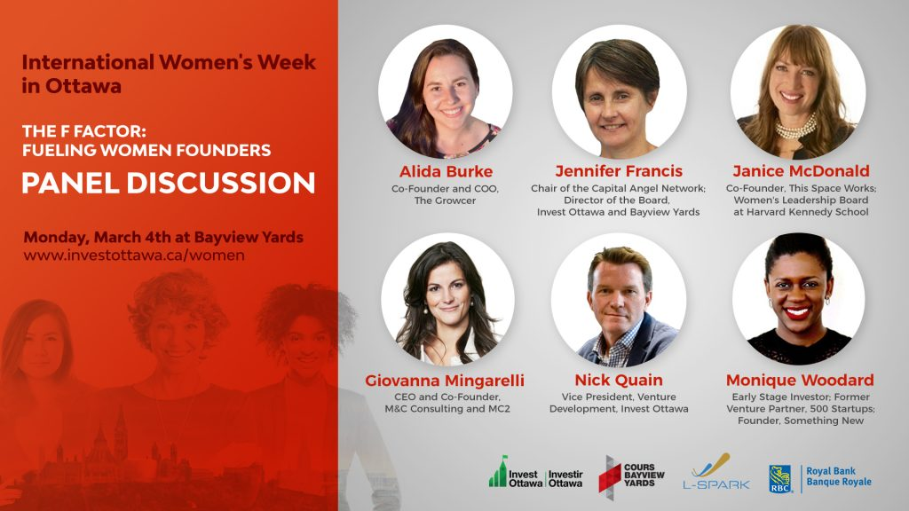 Invest Ottawa Kicks-off International Women's Week with a panel of experts